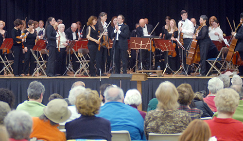 Orchestra and Audience